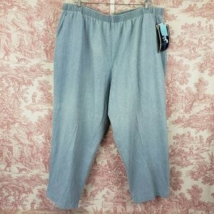 Mustang Plus Pants Pull on Elastic Waist Size 32WP